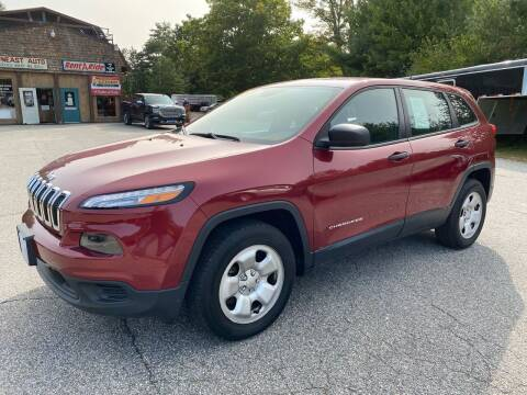 2014 Jeep Cherokee for sale at Downeast Auto Inc in Waterboro ME