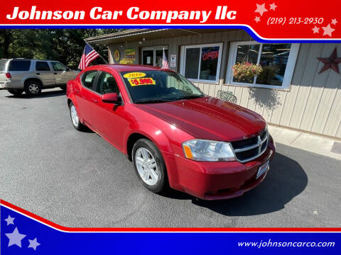 2010 Dodge Avenger for sale at Johnson Car Company llc in Crown Point IN
