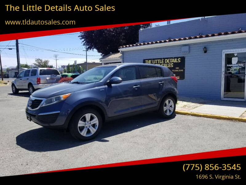 2013 Kia Sportage for sale at The Little Details Auto Sales in Reno NV