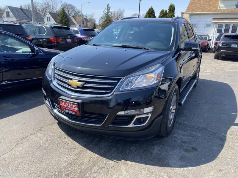 2015 Chevrolet Traverse for sale at CLASSIC MOTOR CARS in West Allis WI