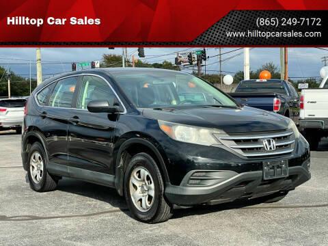 2014 Honda CR-V for sale at Hilltop Car Sales in Knoxville TN