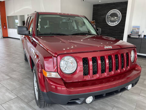 2014 Jeep Patriot for sale at Evolution Autos in Whiteland IN