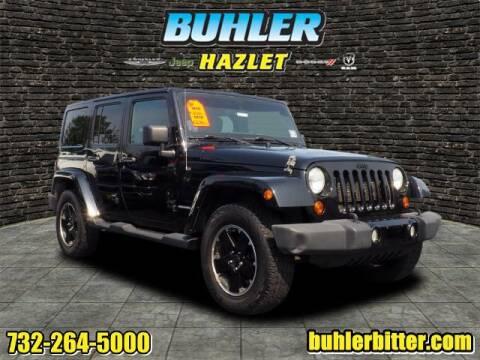 2012 Jeep Wrangler Unlimited for sale at Buhler and Bitter Chrysler Jeep in Hazlet NJ