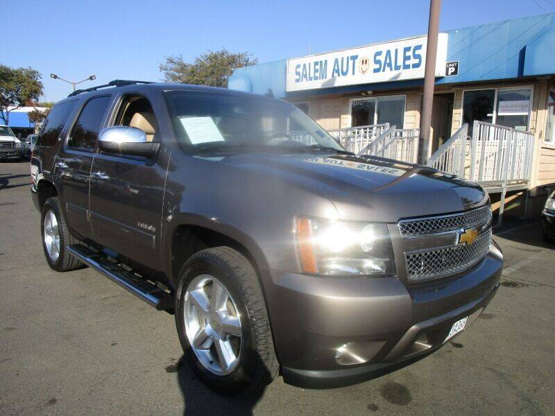 2012 Chevrolet Tahoe for sale at Salem Auto Sales in Sacramento CA