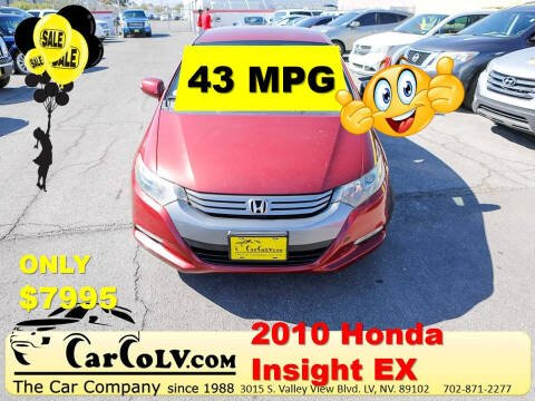 2010 Honda Insight for sale at The Car Company in Las Vegas NV