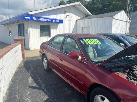 2001 Honda Accord for sale at Augusta Motors Inc in Indianapolis IN