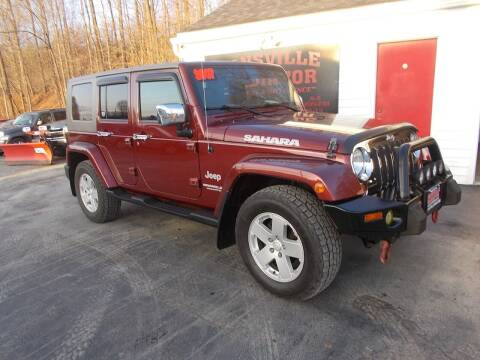2007 Jeep Wrangler Unlimited for sale at Dansville Radiator in Dansville NY