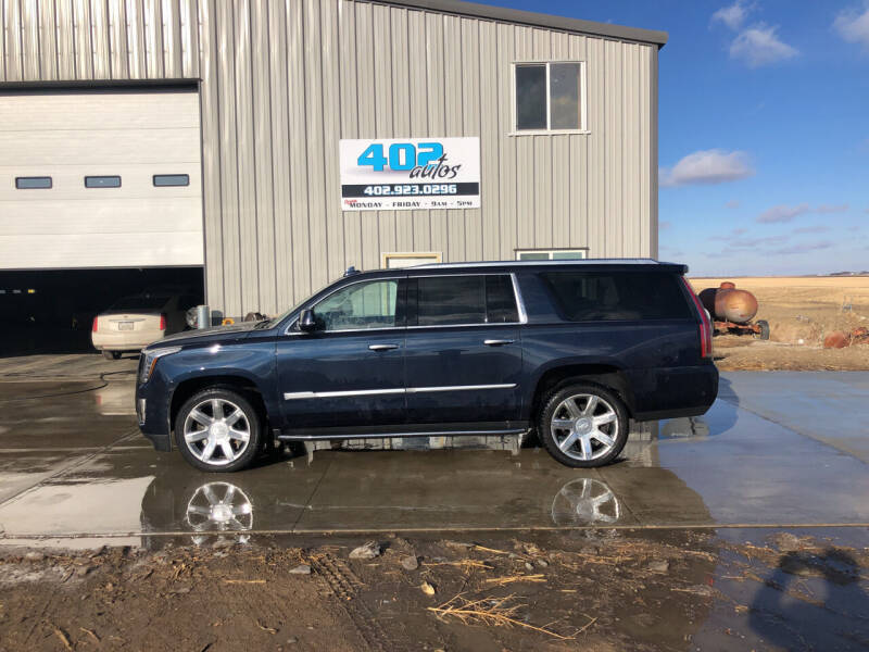 2020 Cadillac Escalade ESV for sale at 402 Autos in Lindsay NE