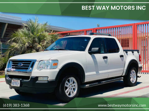 2008 Ford Explorer Sport Trac for sale at BEST WAY MOTORS INC in San Diego CA