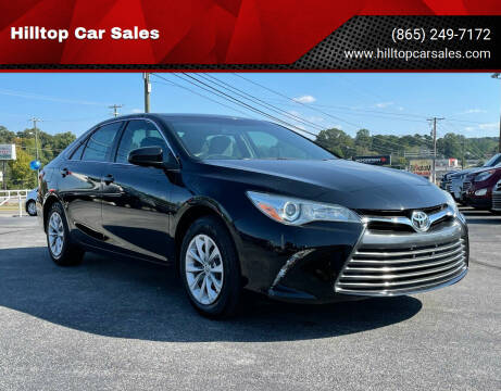 2016 Toyota Camry for sale at Hilltop Car Sales in Knoxville TN