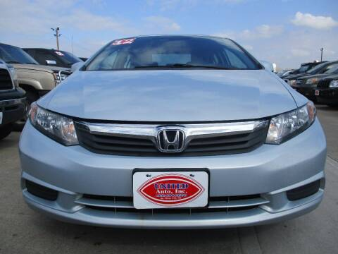 2012 Honda Civic for sale at UNITED AUTO INC in South Sioux City NE