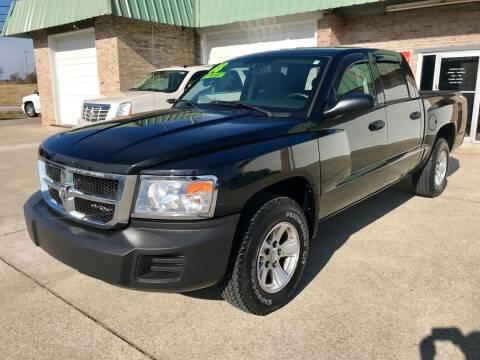 2008 Dodge Dakota for sale at HillView Motors in Shepherdsville KY