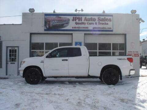2007 Toyota Tundra for sale at JPH Auto Sales in Eastlake OH
