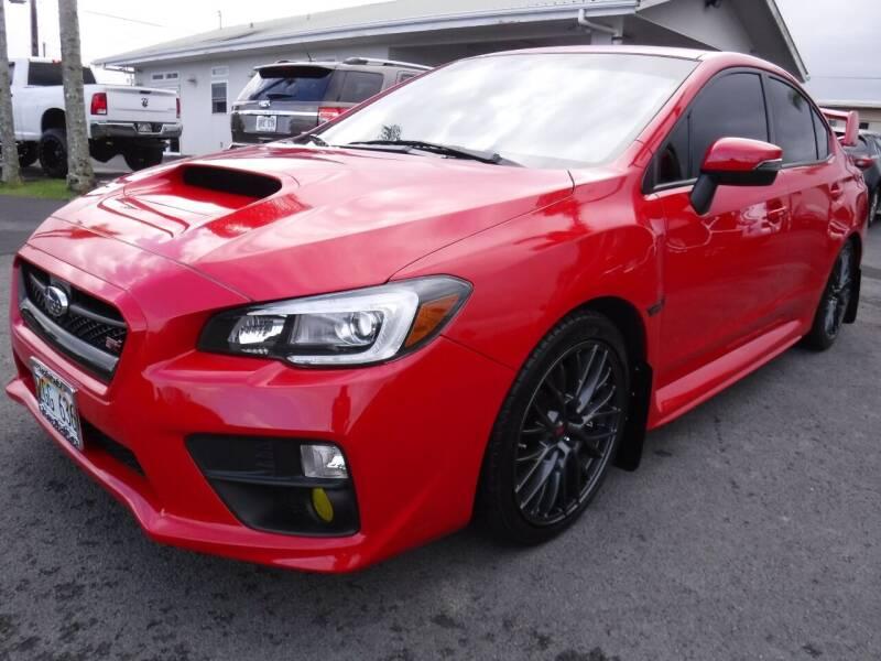 2016 Subaru WRX for sale at PONO'S USED CARS in Hilo HI