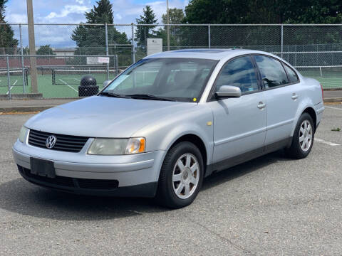 1999 Volkswagen Passat for sale at Q Motors in Tacoma WA