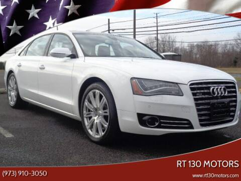 2014 Audi A8 L for sale at RT 130 Motors in Burlington NJ