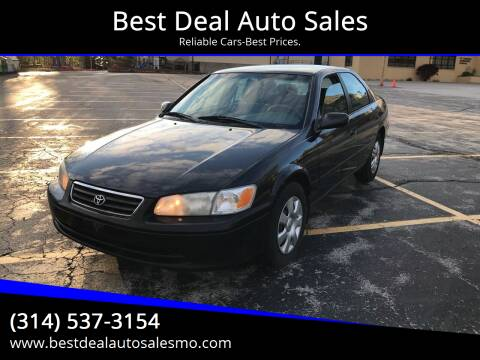 2000 Toyota Camry for sale at Best Deal Auto Sales in Saint Charles MO