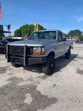 1997 Ford F-250 for sale at Solares Auto Sales in Miami FL