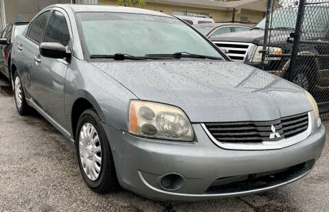 2007 Mitsubishi Galant for sale at Naber Auto Trading in Hollywood FL