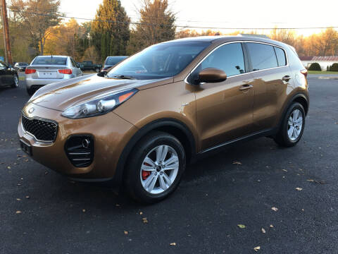 2017 Kia Sportage for sale at Delafield Motors in Glenville NY