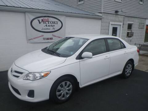 2011 Toyota Corolla for sale at VICTORY AUTO in Lewistown PA