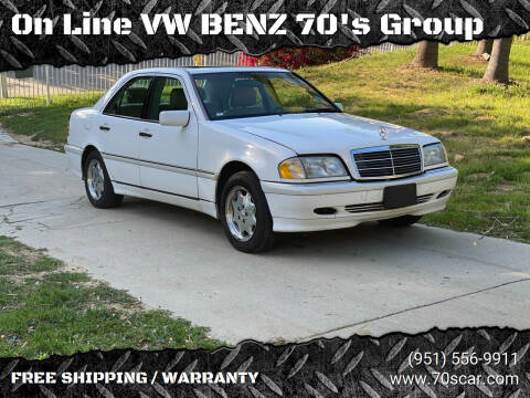 2000 Mercedes-Benz C-Class for sale at On Line VW BENZ 70's Group in Warehouse CA