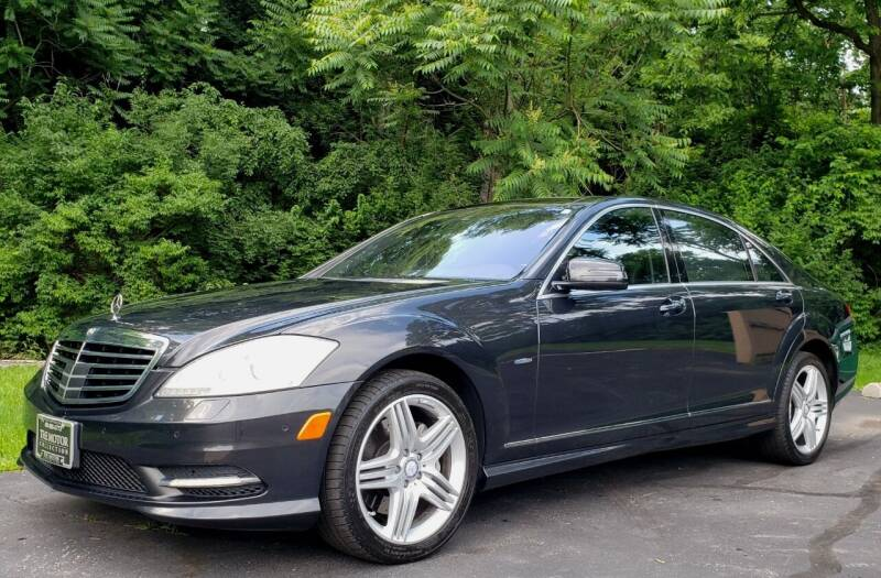 2012 Mercedes-Benz S-Class for sale at The Motor Collection in Columbus OH