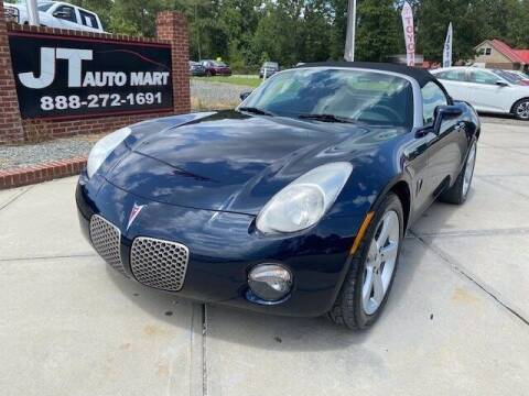 2006 Pontiac Solstice for sale at J T Auto Group in Sanford NC