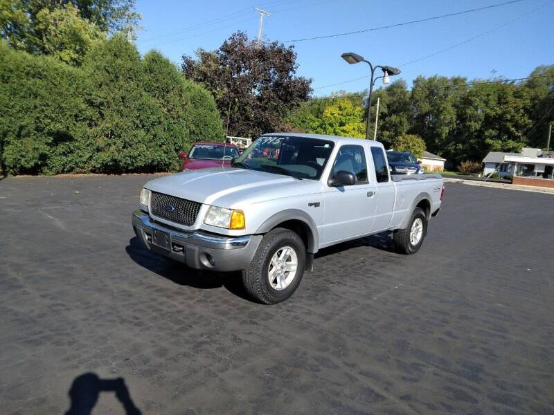 2002 Ford Ranger for sale at Keens Auto Sales in Union City OH