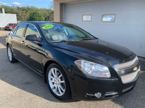 2010 Chevrolet Malibu for sale at G & G Auto Sales in Steubenville OH