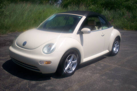 2005 Volkswagen New Beetle Convertible for sale at Action Auto Wholesale - 30521 Euclid Ave. in Willowick OH