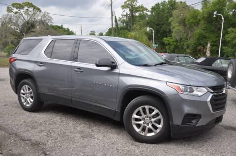 2018 Chevrolet Traverse for sale at Elite Motorcar, LLC in Deland FL