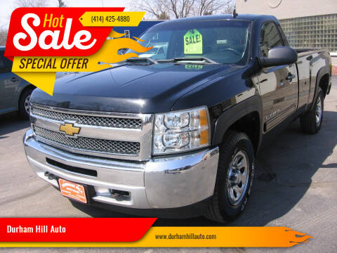 2012 Chevrolet Silverado 1500 for sale at Durham Hill Auto in Muskego WI