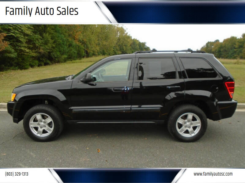 2007 Jeep Grand Cherokee for sale at Family Auto Sales in Rock Hill SC