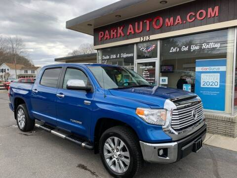 2016 Toyota Tundra for sale at Park Auto LLC in Palmer MA