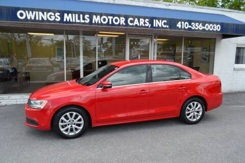 2014 Volkswagen Jetta for sale at Owings Mills Motor Cars in Owings Mills MD