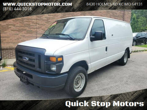 2009 Ford E-Series Cargo for sale at Quick Stop Motors in Kansas City MO