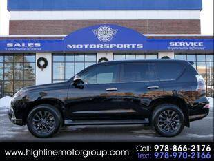 2020 Lexus GX 460 for sale at Highline Group Motorsports in Lowell MA