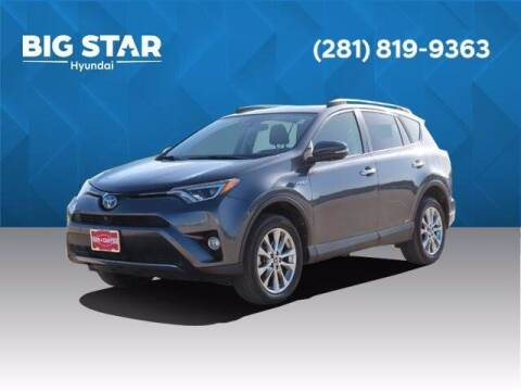 2017 Toyota RAV4 Hybrid for sale at BIG STAR HYUNDAI in Houston TX