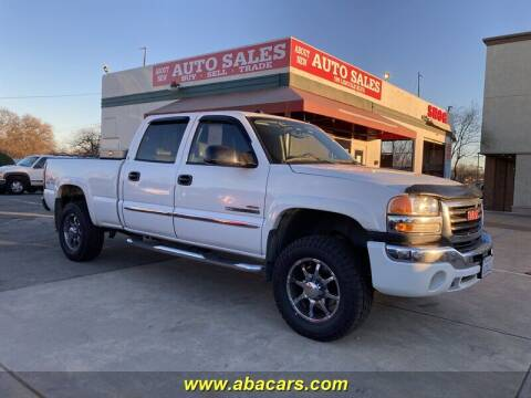 2004 GMC Sierra 2500HD for sale at About New Auto Sales in Lincoln CA