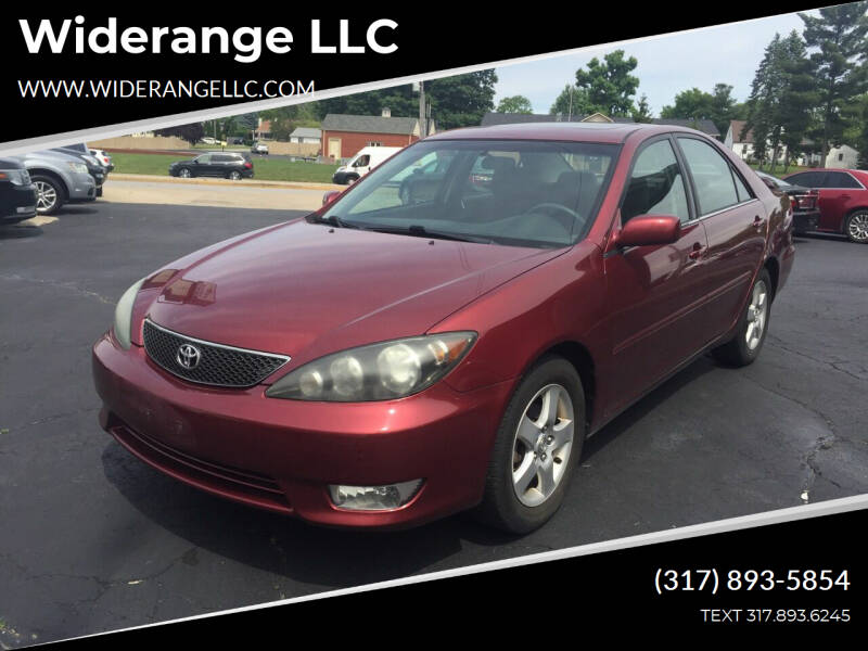 2005 Toyota Camry for sale at Widerange LLC in Greenwood IN