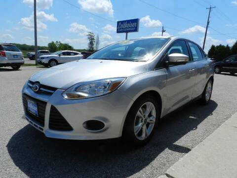 2014 Ford Focus for sale at Leitheiser Car Company in West Bend WI