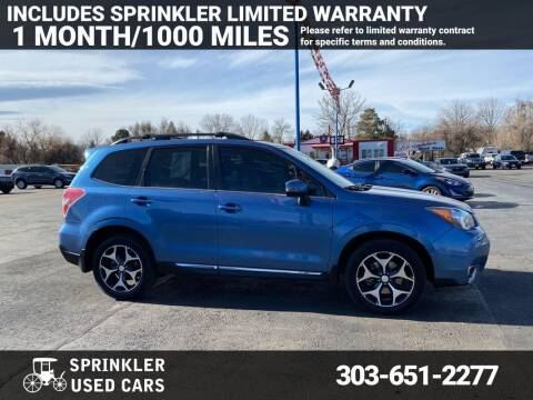 2015 Subaru Forester for sale at Sprinkler Used Cars in Longmont CO