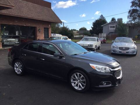 2014 Chevrolet Malibu for sale at Pat's Auto Sales, Inc. in West Springfield MA