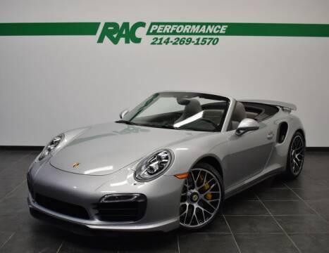 2014 Porsche 911 for sale at RAC Performance in Carrollton TX