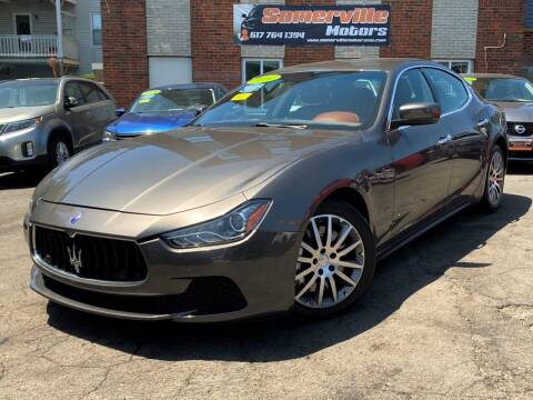 2014 Maserati Ghibli for sale at Somerville Motors in Somerville MA