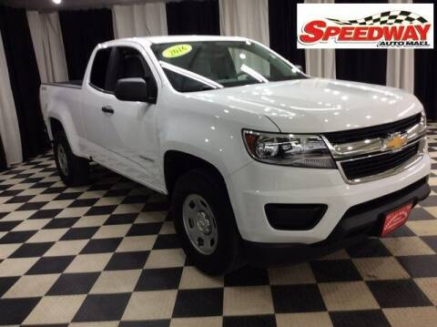 2016 Chevrolet Colorado for sale at SPEEDWAY AUTO MALL INC in Machesney Park IL