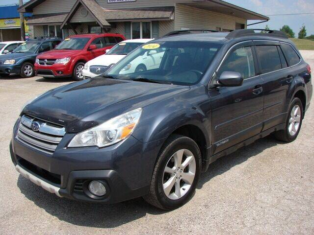 2014 Subaru Outback for sale at Lehmans Automotive in Berne IN