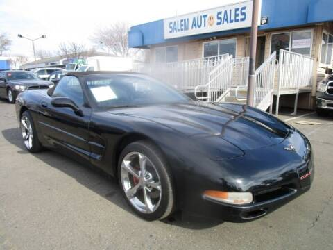 2001 Chevrolet Corvette for sale at Salem Auto Sales in Sacramento CA