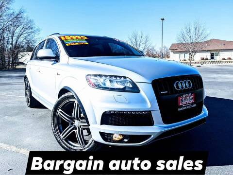 2012 Audi Q7 for sale at Bargain Auto Sales LLC in Garden City ID